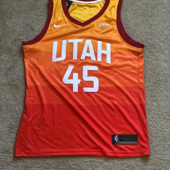 b0a45db01f6f Donovan Mitchell Utah Jazz Jersey